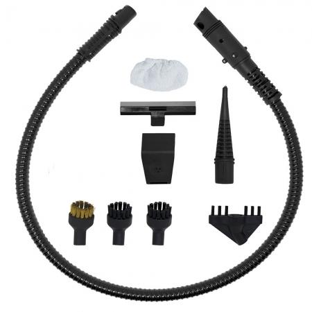 Aspirator Vertical cu Abur, Multifunctional, Polti Vaporetto 3 Clean, 1700 W, 0.5 l, Cyclonic, Alb/Gri4
