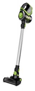 Aspirator Vertical Polti Forzaspira Slim SR110, Fara Sac, Fara Fir, Baterie 25,9V Li-Ion, Autonomie de lucru 50 min, 2.6 Kg, Negru/Verde0
