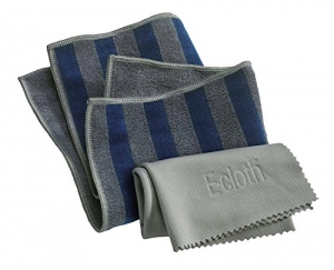 Set Doua Lavete Premium E-Cloth din Microfibra pentru Cuptor, Plita, Aragaz, 32 x 32 cm7