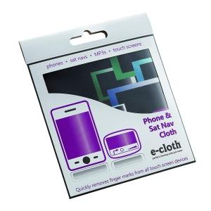 Laveta E-Cloth pentru Ecran Telefon, Tableta, Navigatie, MP3, Touch Screen, 19 x 19 cm3
