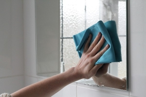 Laveta Premium E-Cloth din Microfibra pentru Sticla si Lustruire, Pahare, Geamuri, Vitroceramica, 50  x 40 cm9