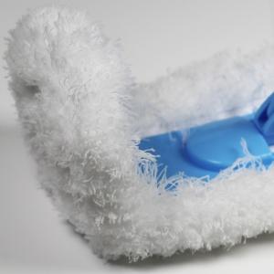 Rezerva Mop de Praf Premium E-Cloth Flexibil pentru Pardoseli si Pereti, 45  x 14 cm