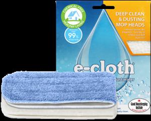 Mop cu Abur fara Fir Polti Moppy + Lavete Premium E-Cloth din Microfibra, Editie Speciala, Alb