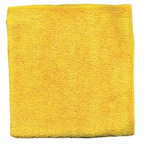 Set 10 x Laveta Premium E-Cloth Universala din Microfibra, Bucatarie, Baie, Geamuri, Praf, 32 x 32 cm, Galben