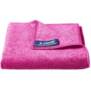 Set 10 x Laveta Premium E-Cloth Universala din Microfibra, Bucatarie, Baie, Geamuri, Praf, 32 x 32 cm, Rosu