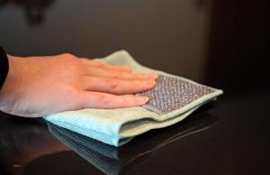 Set Doua Lavete Premium E-Cloth din Microfibra pentru Curatarea Bucatariei, 32 x 32 cm, Compartiment Abraziv