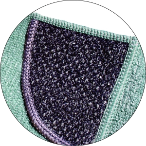 Set Doua Lavete Premium E-Cloth din Microfibra pentru Curatarea Bucatariei, 32 x 32 cm, Compartiment Abraziv8