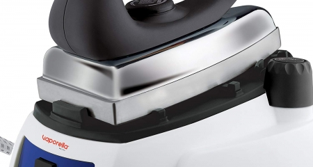 Statie de Calcat Polti Vaporella 515 Pro,Talpa Aluminiu, 1750 W, 0,9 l, 3.5 Bar, 90 gr/min, Alb/Albastru5
