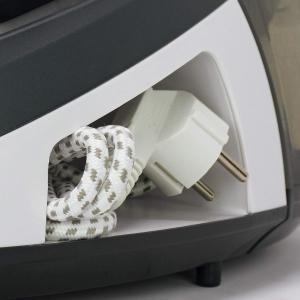 Statie de Calcat Polti Vaporella Simply VS10.10, Talpa Ceramica, 2200 W, 1.5 l, 6.5 BAR, 125 gr/min, Alb/Gri