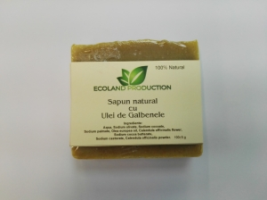 Sapun natural cu ulei de galbenele,Ecoland Production,100g