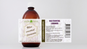 Ulei esential de lavanda 100% natural 250ml Ecoland Production