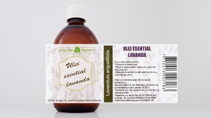 Ulei esential de lavanda 500ml Ecoland Production