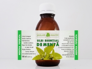 Ulei esential de menta 100ml Ecoland Production