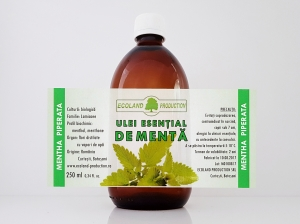 Ulei esential de menta 250ml Ecoland Production