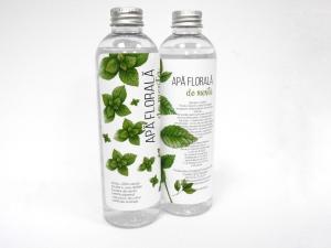 Apa florala de menta, 250 ml, 100% natural