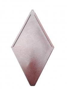 ECO-R line - solzi metalici romboidali, 40buc/mp