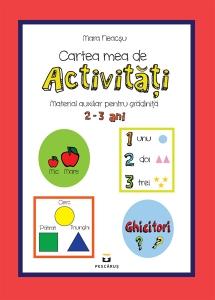 Cartea mea de activitati 2-3 ani