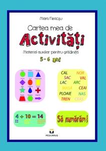 Cartea mea de activitati 5-6 ani