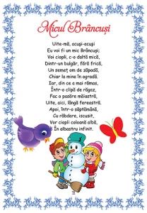 Poezii pentru cei mici