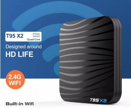 Raldio T95X2 Mediaplayer Smart TV Box  2 GB si 16 GB RAM miniPC Android 8.1  8000 posturi TV LIVE din intreaga lume7