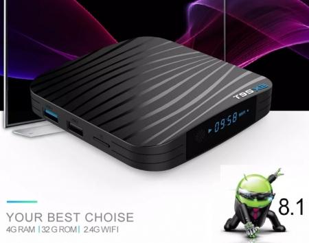 Raldio T95X2 Mediaplayer Smart TV Box  2 GB si 16 GB RAM miniPC Android 8.1  8000 posturi TV LIVE din intreaga lume4