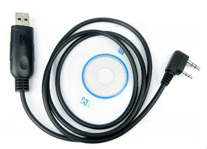 Cablu si CD programare statii Kenwood , Baofeng UV-5R , 888S