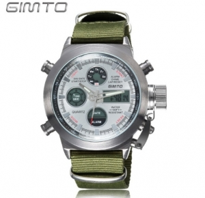 GIMTO ceas military, army, sport dual core0