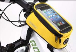 Borseta frontala ROSWHEEL bicicleta galben, mountain bike ptr Focus, Merida, Giant