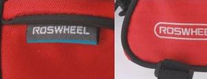 Borseta frontala ROSWHEEL bicicleta rosu, mountain bike ptr Focus, Merida, Giant
