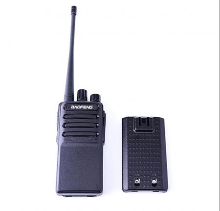 Set 2 buc Statii Radio Walkie Talkie Baofeng BF- V2 UHF 400-470MHz 16CH PROGRAMABILE, incarcare USB 5V + Cablu si CD programare2