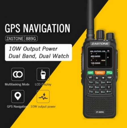 Statie radio emisie receptie profesionala 10W  ZT-889G duplex GPS repetor