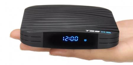 Raldio T95X2 Smart TV Box  4 GB si 32 GB RAM miniPC Android 8.1 8000 posturi TV LIVE din intreaga lume0