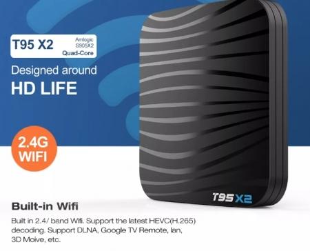 Raldio T95X2 Smart TV Box  4 GB si 32 GB RAM miniPC Android 8.1 8000 posturi TV LIVE din intreaga lume5