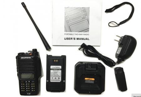 Statie Radio Walkie Talkie Baofeng T-57, ptr conditii extreme dual band 136-174 Mhz, 400-520 Mhz, 5W2