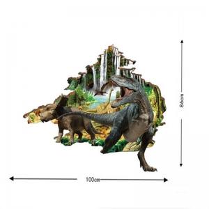 Autocolant 3D - Dinozauri - 100x86 cm
