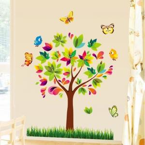 Autocolant de perete pentru copii - Copacelul fermecat4