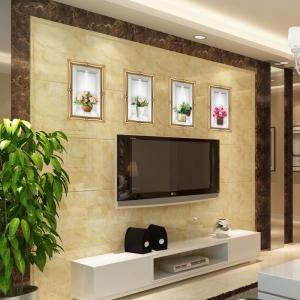 Stickere camera de zi - Aranajamente florale 3D - 122x44 cm5
