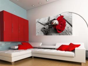 Fototapet Trandafir Rosu FTG 0917