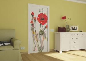 Fototapet Flori de Mac1