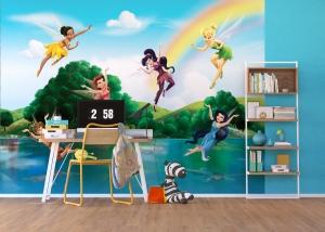 Fototapet Disney - Zane sub Curcubeu