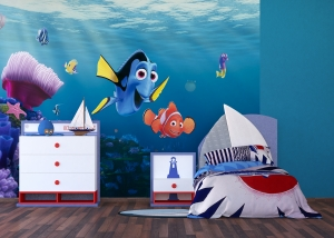 Fototapet Disney - Nemo si Dory in Recif2