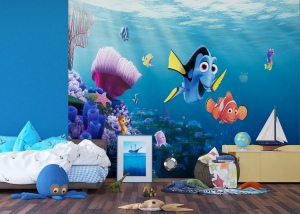 Fototapet Disney - Nemo si Dory in Recif3