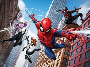 Fototapet Spiderman si Eroii
