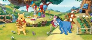 Fototapet Disney - Winnie de Plus la Petrecere0