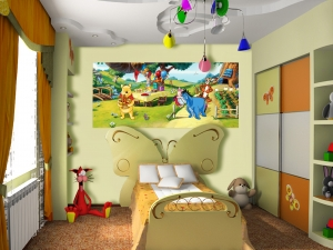 Fototapet Disney - Winnie de Plus la Petrecere1