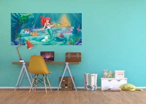Fototapet Disney - Micuta Sirena