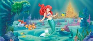 Fototapet Disney - Micuta Sirena0