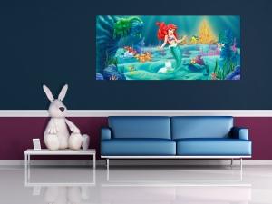 Fototapet Disney - Micuta Sirena1
