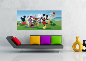 Fototapet Disney - Salutari de la Mickey