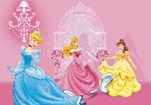 Fototapet Disney - Cenusareasa, Belle si Aurora